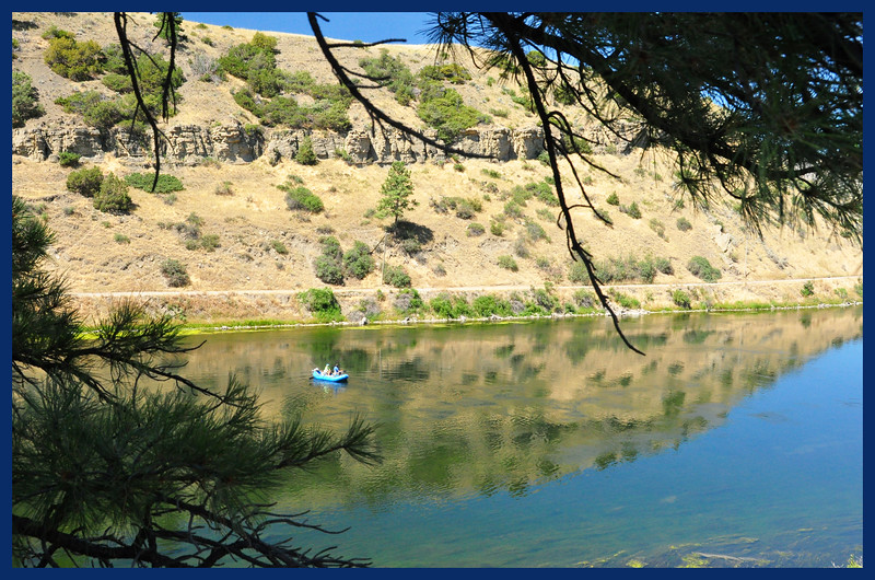 Fishing in the Missouri River below Holter Dam