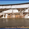 The Dam Spillways Above, and Parts of the Original Waterfall Below