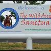 "The Sign for the Place that Saves ""Captive Wildlife"""
