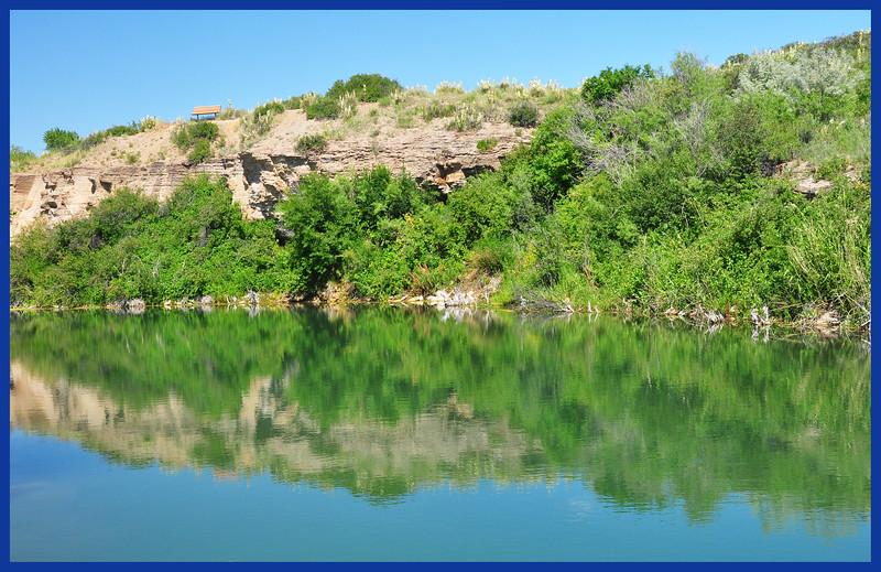 A Pond Along the Missouri River