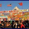 Breakfast Burrito Food Stand
