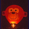 Grainy Balloon Glow - Night Shot