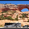 Phay and JW at Wilson Arch (with other vehicles removed)