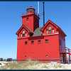 "The Lighthouse known as ""Big Red""."