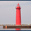 Muskegon South Pierhead Light.