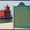 "The Holland Harbor Lighthouse ""Big Red"""