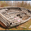 "The Remains of the old boat ""Bernice D"" built in Peshtigo, Wisconsin in 1915"