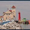 The Muskegon South Pierhead Lighthouse