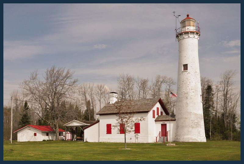 The Sturgeon Point Lighthouse