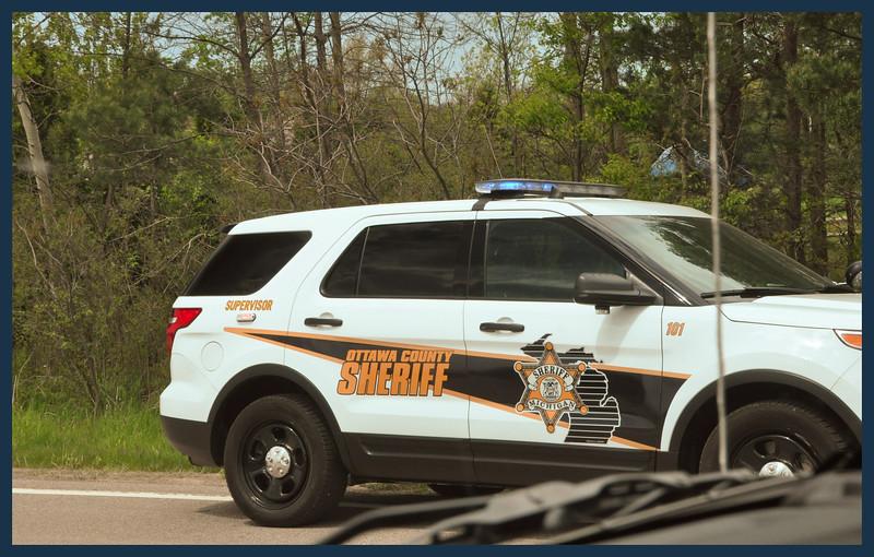 Ottowa County Sheriff Vehicle