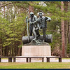 Lumberman's Monument at the Visitor Center (Photo by IM).