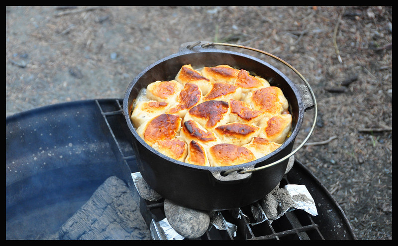 Larry and Annette's Dutch Oven Masterpiece Dinner
