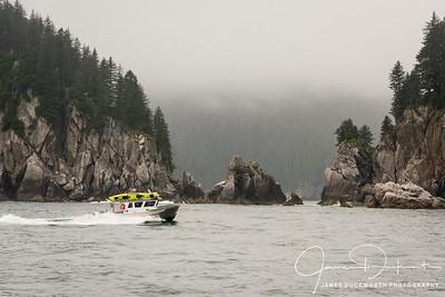 Fishing near Seward, Alaska