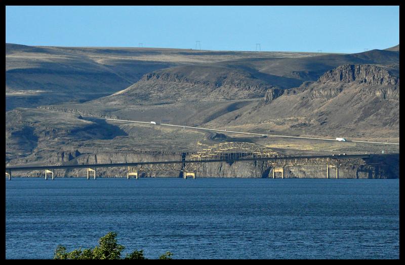 Interstate 90 Bridge across the Columbia River