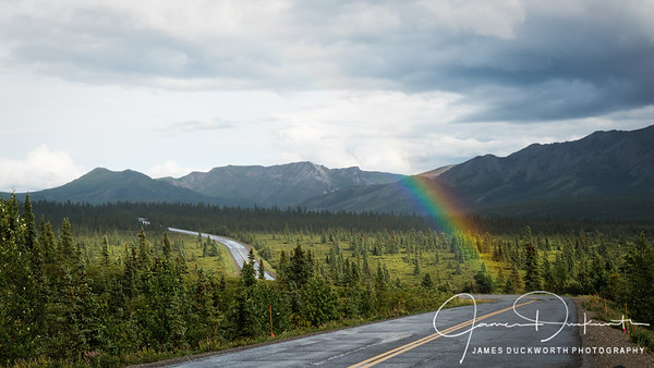 Rainbow, Denali National Park