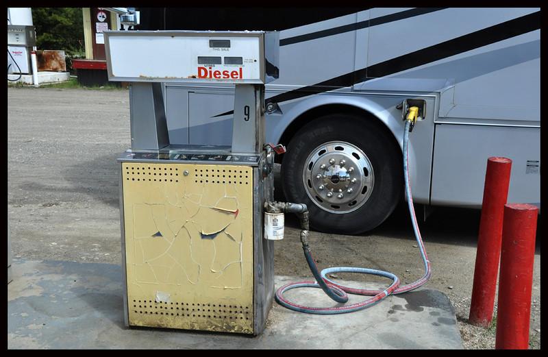 Old Diesel Fuel Pump