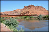 US Highway 191 Bridge across the Colorado River on its way to the Grand Canyon