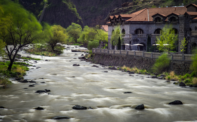 One of the beautiful Tufenkian hotels that dot the Armenian landscape