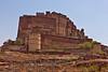 """Merangarh Fort<br /> Also called """"The red fort""""."""