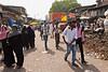 Dharavi street scene