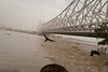 Howrah Bridge crossing the Ganges river