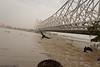 Howrah Bridge crossing the Ganges river
