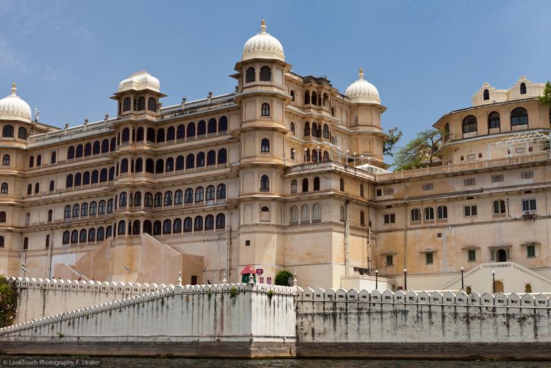 A part of the impressive City Palace complex.