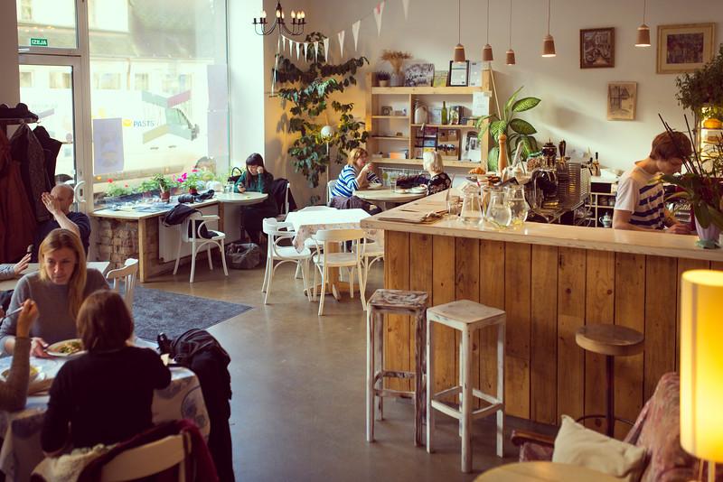 Trusis Cafe, Riga