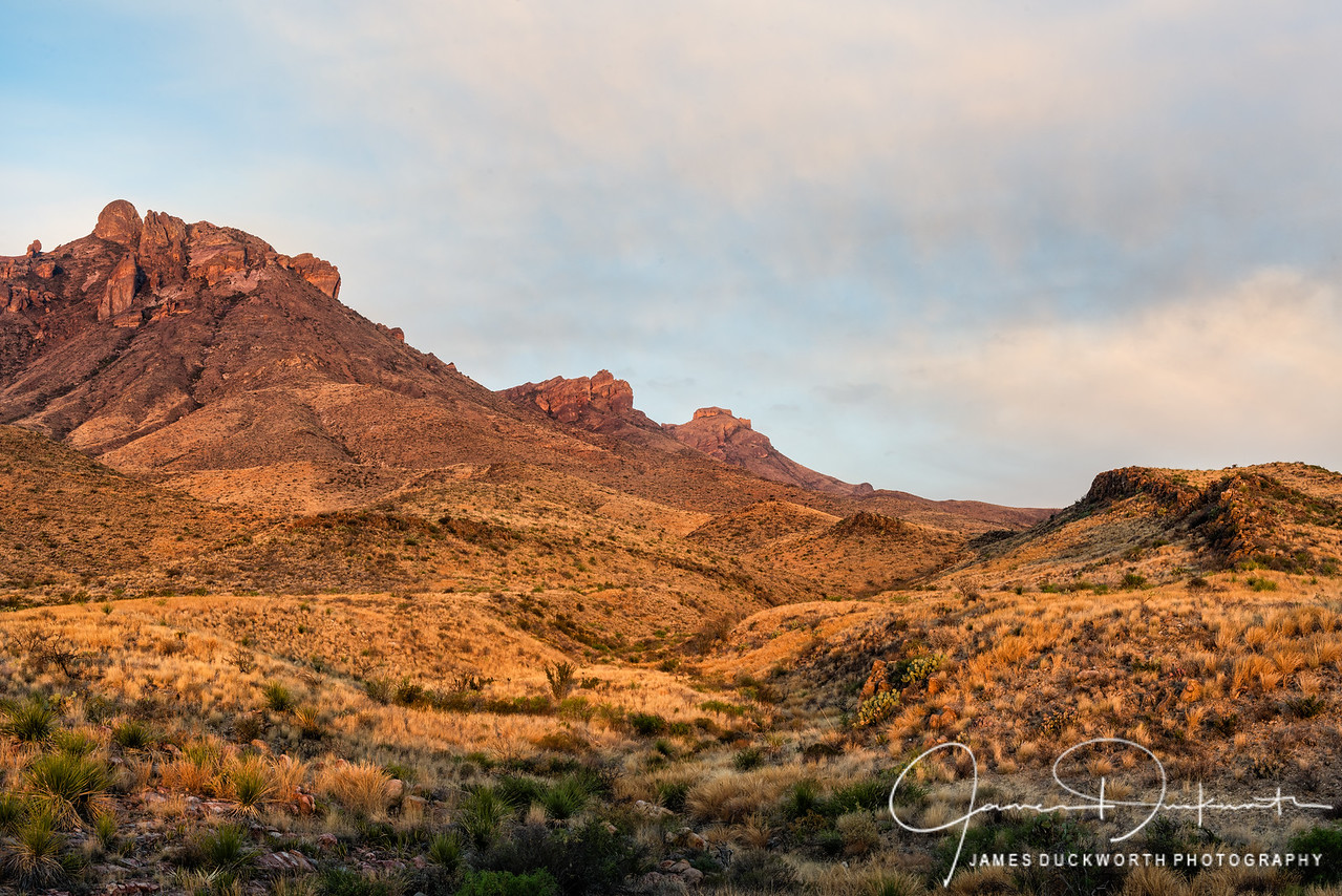 Sunrise near Panther Junction, Big Bend National Park