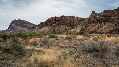 Desert Scene near Terlinqua