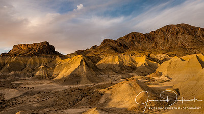 Late Afternoon in the Badlands
