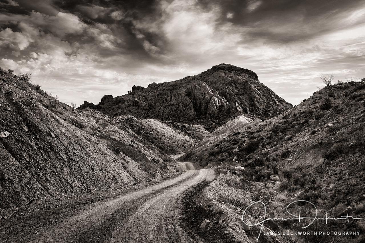 Terlingua Desert Road