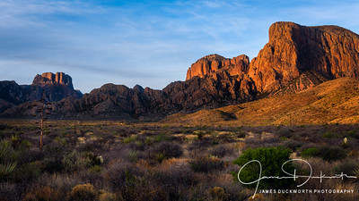 Chisos Mountains from Green Gulch