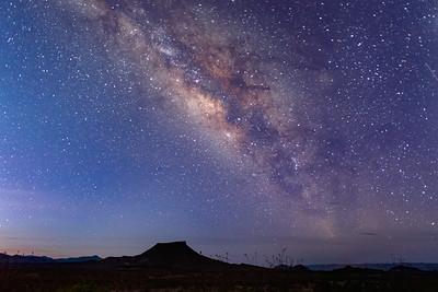 Milky Way in Big Bend National Park