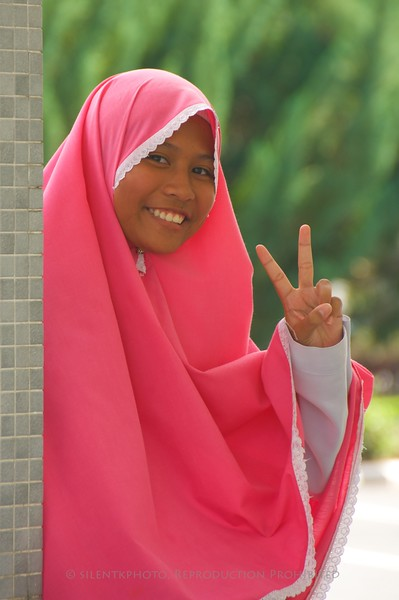 Brunei - School GIrl.