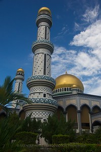Brunei - Sir Sultan Omar Ali Saifuddien Mosque, Brunei City.