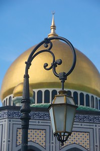 Brunei - Sir Sultan Ali Saifuddien Mosque, Brunei City.