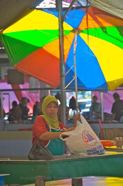 Kuching, Malaysia - local Markets.
