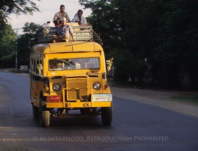 Burmese mass transit.