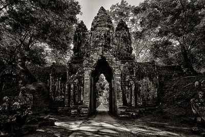 North Gate of Angkor Thom, Siem Reap, Cambodia - 2015