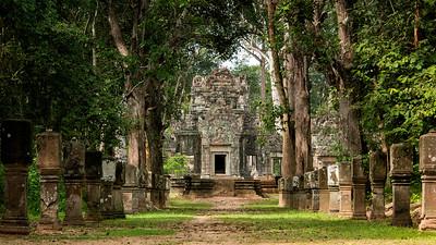 Chau Say Tevada, Siem Reap, Cambodia - 2015