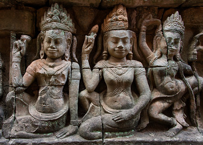 Terrace of the Leper King, Angkor Thom, Siem Reap, Cambodia - 2015