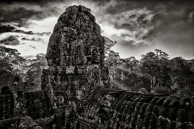 Bayon Temple, Siem Reap, Cambodia - 2015