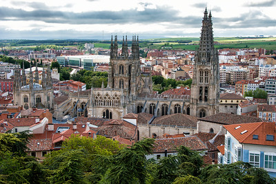 Burgos Cathedral on the Camino Santiago