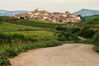 Cirauqui - Zirauki along the Camino Santiago