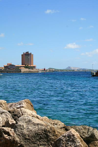 <h3><center>Willemstad harbor</h3><br> <h5>~ Curaçao</center></h5>