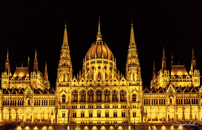 Golden Glow of Parliment