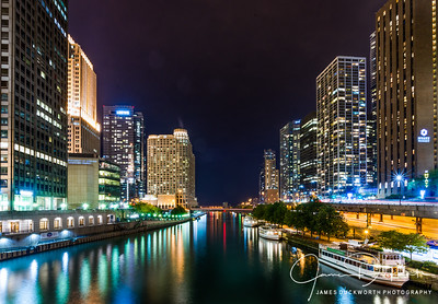 Chicago River from Michigan Avenue
