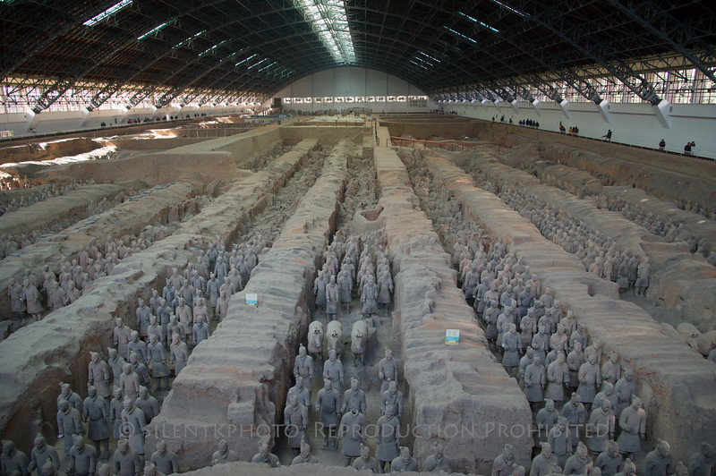 Terra Cotta Warriors, Xi'an, China