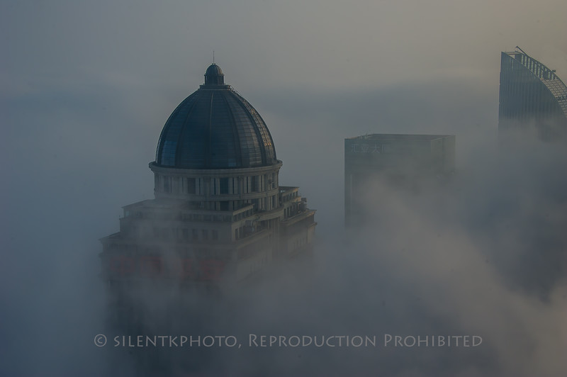 Shanghai - in the Fog